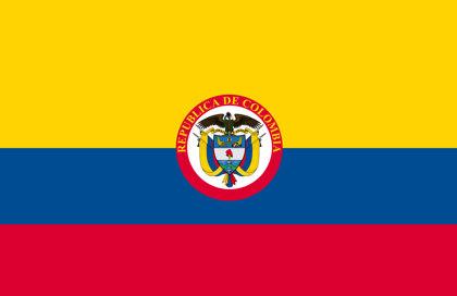 Drapeau République de Colombie