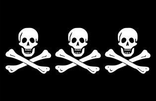 Drapeau Pirate Christopher Condent