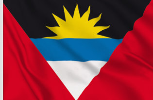 Drapeau de table Antigua et Barbuda