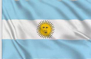 Drapeau de table Argentine