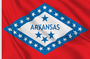 Drapeau Arkansas