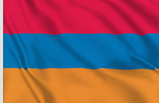 Drapeau de table Armenie