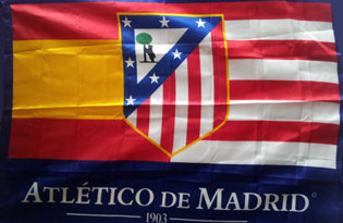 Drapeau Atletico Madrid