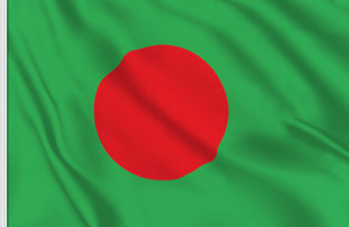 Drapeau de table Bangladesh