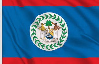 Drapeau de table Belize