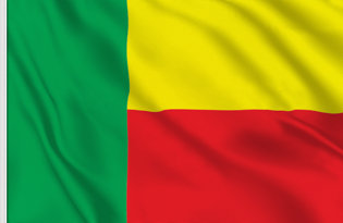 Drapeau de table Benin