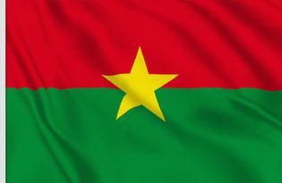 Drapeau de table Burkina Faso