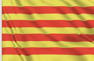 Drapeau de table Catalogne