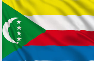 Drapeau de table Comores