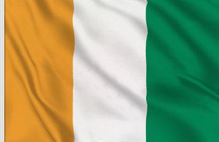 Drapeau de table Cote Ivoire