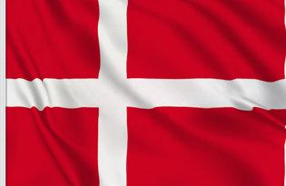 Drapeau de table Danemark