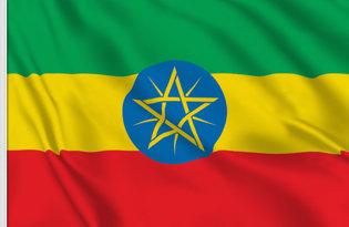 Drapeau Ethiopien