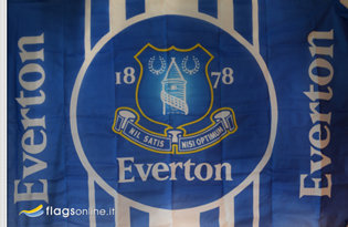 Drapeau Everton Football Club