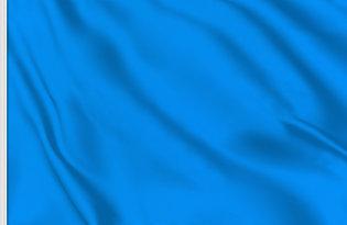 Drapeau de course bleu
