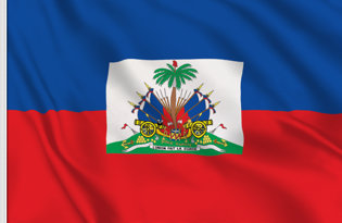 Drapeau de table Haiti d Etat