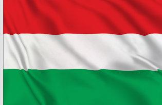 Drapeau de table Hongrie