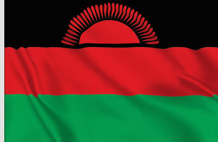 Drapeau de table Malawi