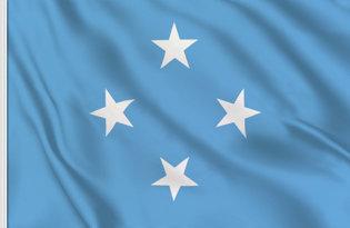 Drapeau Micronesie