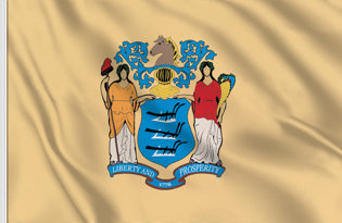 Drapeau New-Jersey