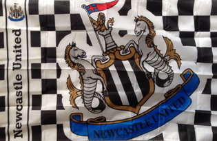 Drapeau Newcastle United Football Club