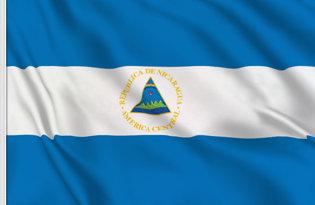 Drapeau de table Nicaragua