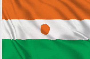 Drapeau de table Niger