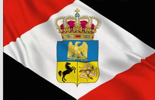 Drapeau Royaume de Naples (1808-1811)