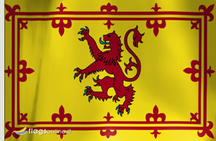 Étendard Royal d'Écosse (843-1707)