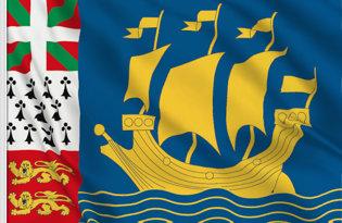 Drapeau St Pierre et Miquelon