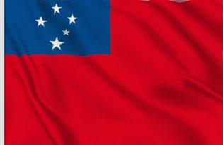 Drapeau Samoa Occidentales