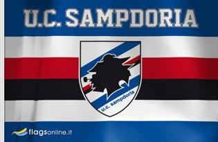 Drapeau Sampdoria de Gênes
