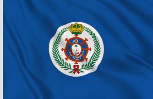 Drapeau Arabie Saoudite (Marine militaire - version union jack)