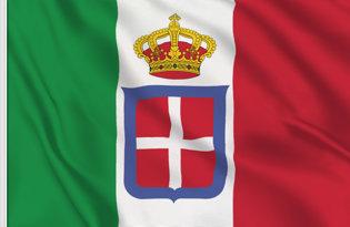 Drapeau Royaume d'Italie (Marine militaire) (1861-1946)