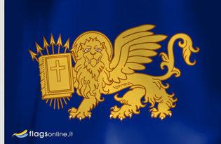 Drapeau République des Sept-Îles (1800-1815)