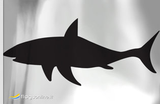 Drapeau Danger Requins