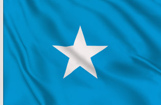 Drapeau de table Somalie