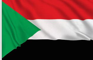 Drapeau de table Soudan