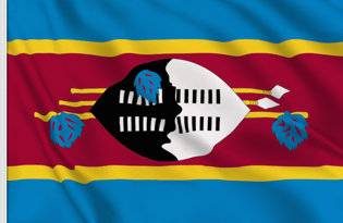 Drapeau de table Swaziland