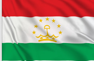 Drapeau de table Tadjikistan