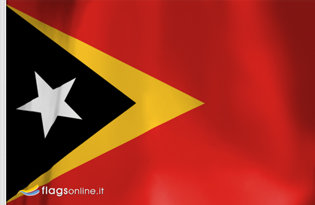 Drapeau de table East Timor