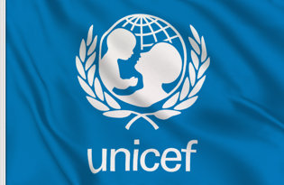 Drapeau de table Unicef
