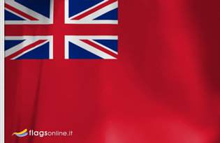 Drapeau Royaume Uni (Marine marchande)