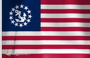 Drapeau Etats-Unis (Marine marchande)