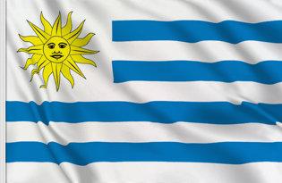 Drapeau de table Uruguay