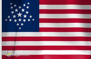 Drapeau US Great Star (1837-1845)