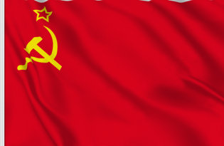 Drapeau de table URSS