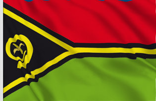 Drapeau Vanuatu