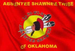 Drapeau Shawnee