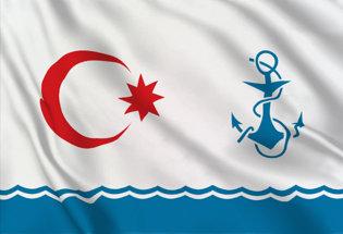 Drapeau Azerbaïdjan (Marine militaire)