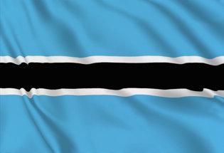 Drapeau Botswanais